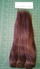 2 chocolate swirl mohair weft for
