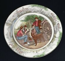 Royal doulton cabinet plate jock of