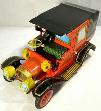 Early model limousine tin plate car
