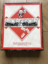 S monopoly game in great condition