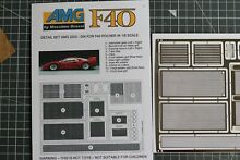 F40 photoetched parts