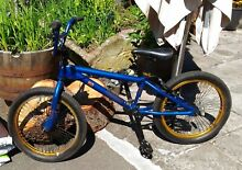 Used blue ko 20 inch wheel bmx bike