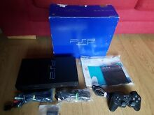 Boxed playstation two console