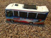 Old tinplate toy bus