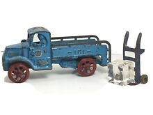1930s cast mack ice truck hand cart