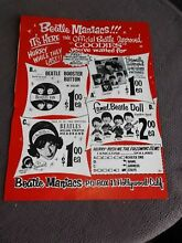 1964 beatle maniacs stuff for sale