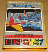 Zaxxon vision game complete in