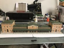 N scale train terminal osterburken