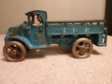 Cast iron mack ice truck original 8
