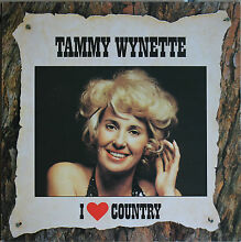 Wynette i love country 33t lp