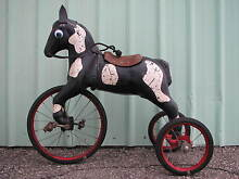 Horse tricycle pedal car tractor