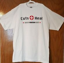 Don cherry s cuts heal tshirt white