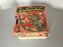 50s the bubble blowing elephant