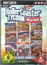 Pc dvd gioco rollercoaster tycoon 1