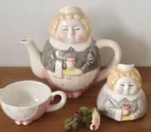Fitz floyd quirky ceramic maid tea