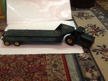 1950 s steel toy tournahauler