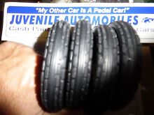 Tires for pressed steel toy trucks