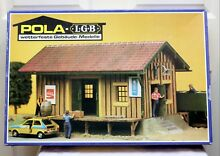 Lgb 905 freight shed kit box only