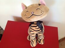 Aggie tiger striped cat soft toy 10