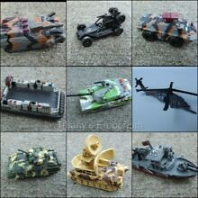 Vehicles helicoper tank you choose