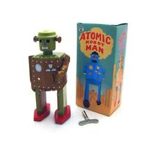 Tin toys robots wind up toys home