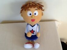 Tickety toc talking tommy soft toy