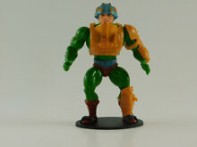 Action figure stands motu he man 82