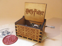 Harry potter wooden engraved