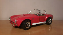 1 18 shelby cobra 427 rouge