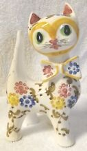Figurine multi color kitten