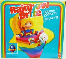 Rainbow brite mattel colour pockets
