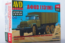 Avd 1423avd 1 43 model kit car van
