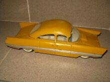 Old tin toy vehicle car from 1960s