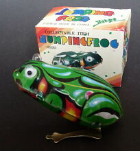 Classical jumping frog clockwork