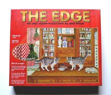 Challenging the edge dresser cats