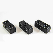 50 x modesty mod blocks black