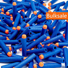 Soft gun refill blue bullets darts
