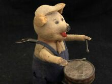 Toy pig schuco patent mechanical