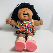 Rare cabbage patch girl black