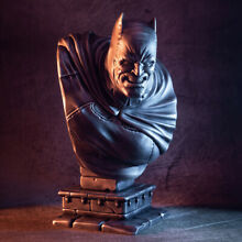 3d printed bust the dark knight