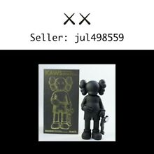Kaws share vinyl figure black 100