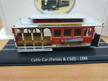 San fransiscotram cable car 1888