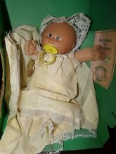 Doll coleco girl w cert preemie in