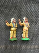 Rubber indian indianer cowboy toy