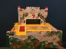 Hand made toy fort painted