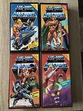 Masters of the universe he man vhs