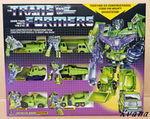 Devastator reissue g1 giftbox set