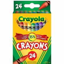 Crayola classic colour pack crayons