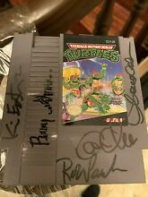 Signed nintendo game by kevin