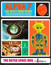 1960 colorforms aliens outer space